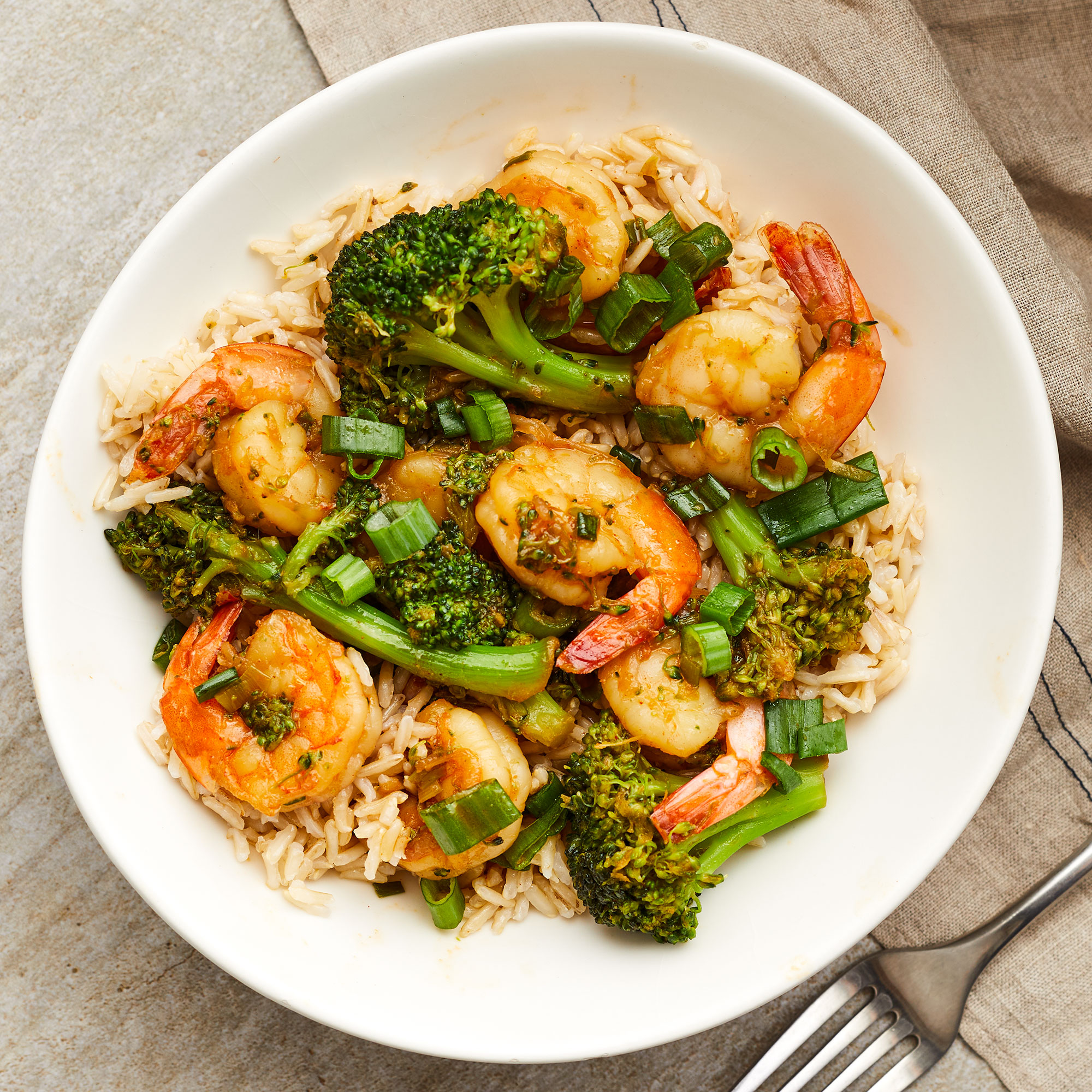 Shrimp & Broccoli Stir-Fry