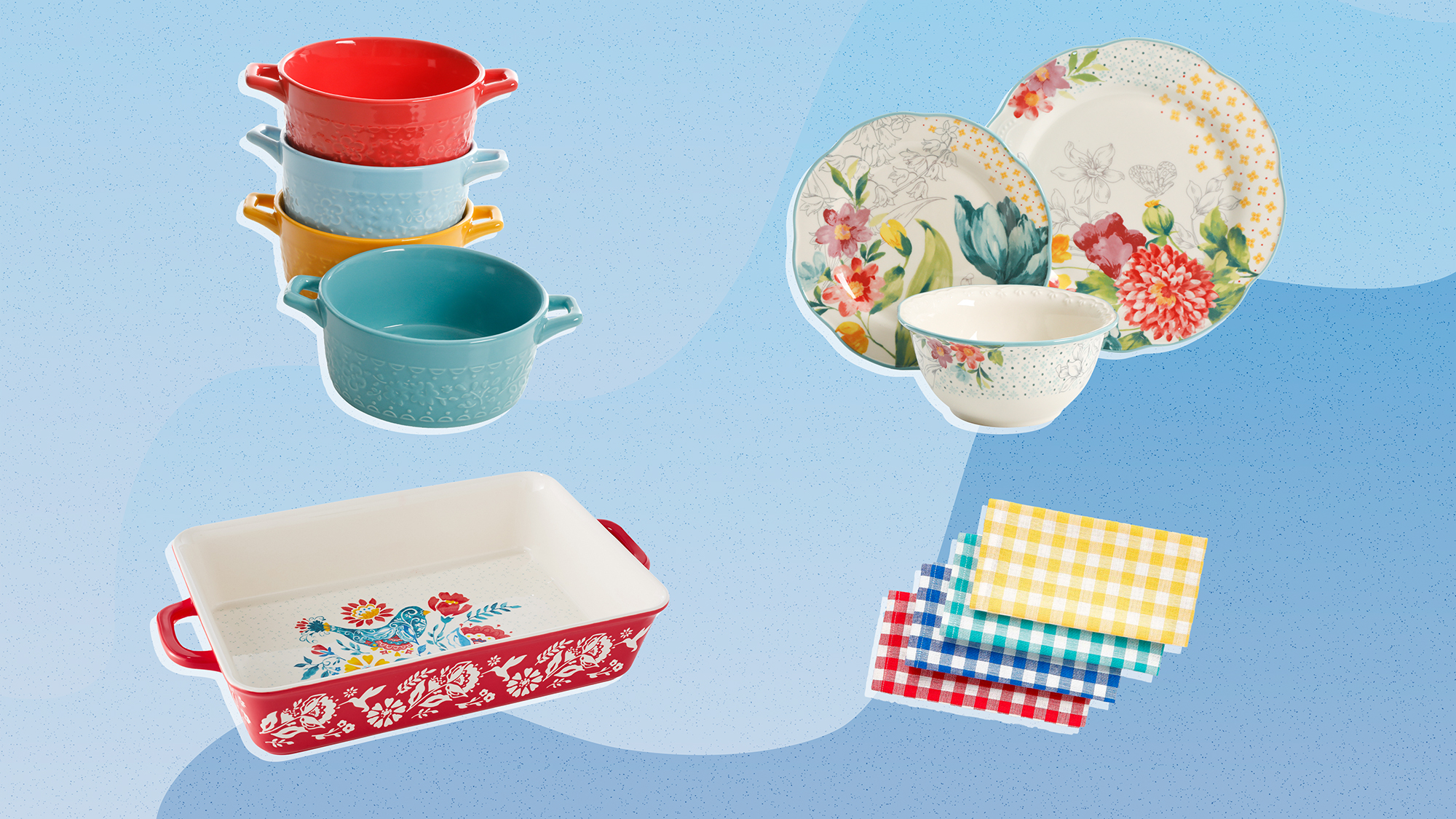 Pioneer Woman kitchen items
