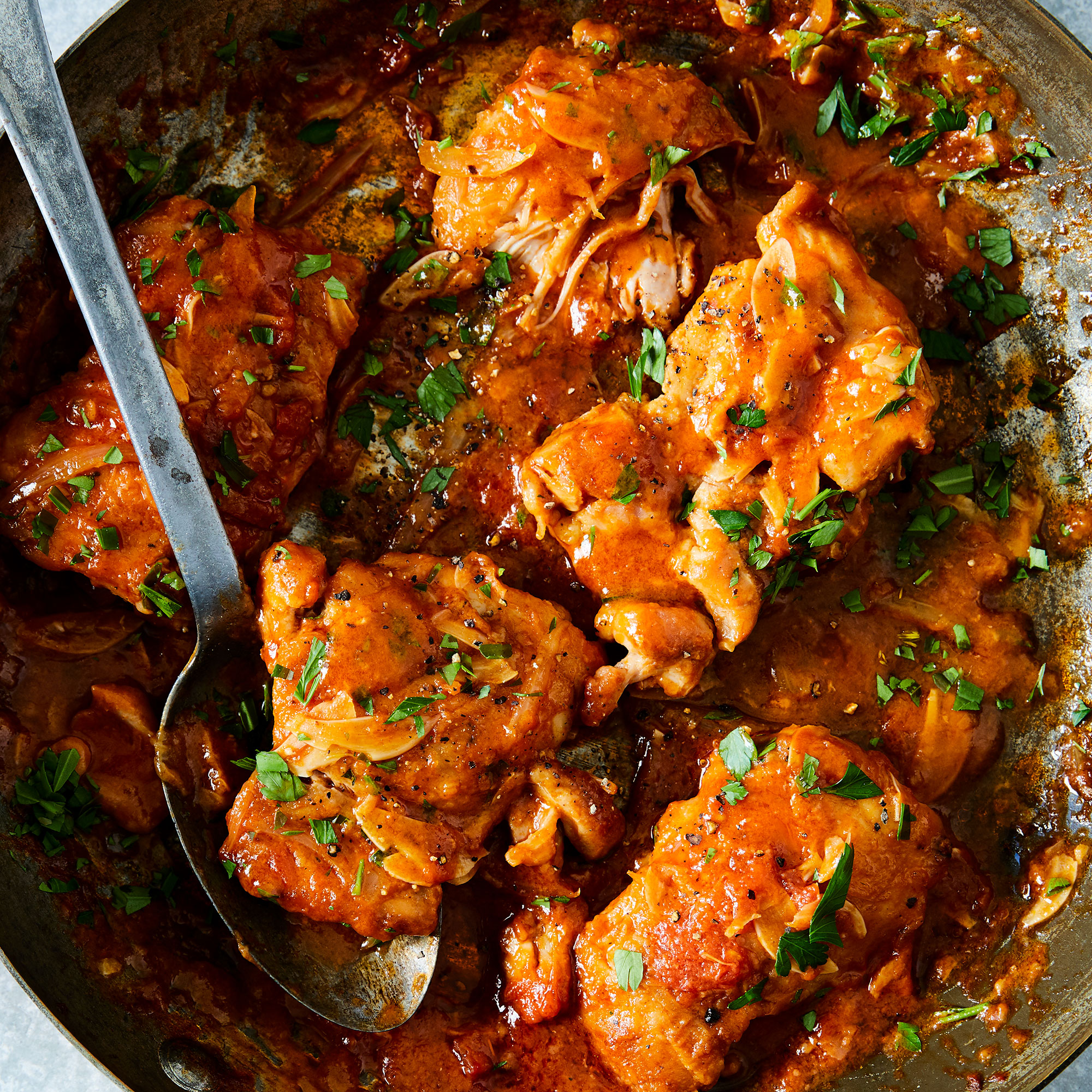 Poulet au Vinaigre (Chicken in Vinegar)