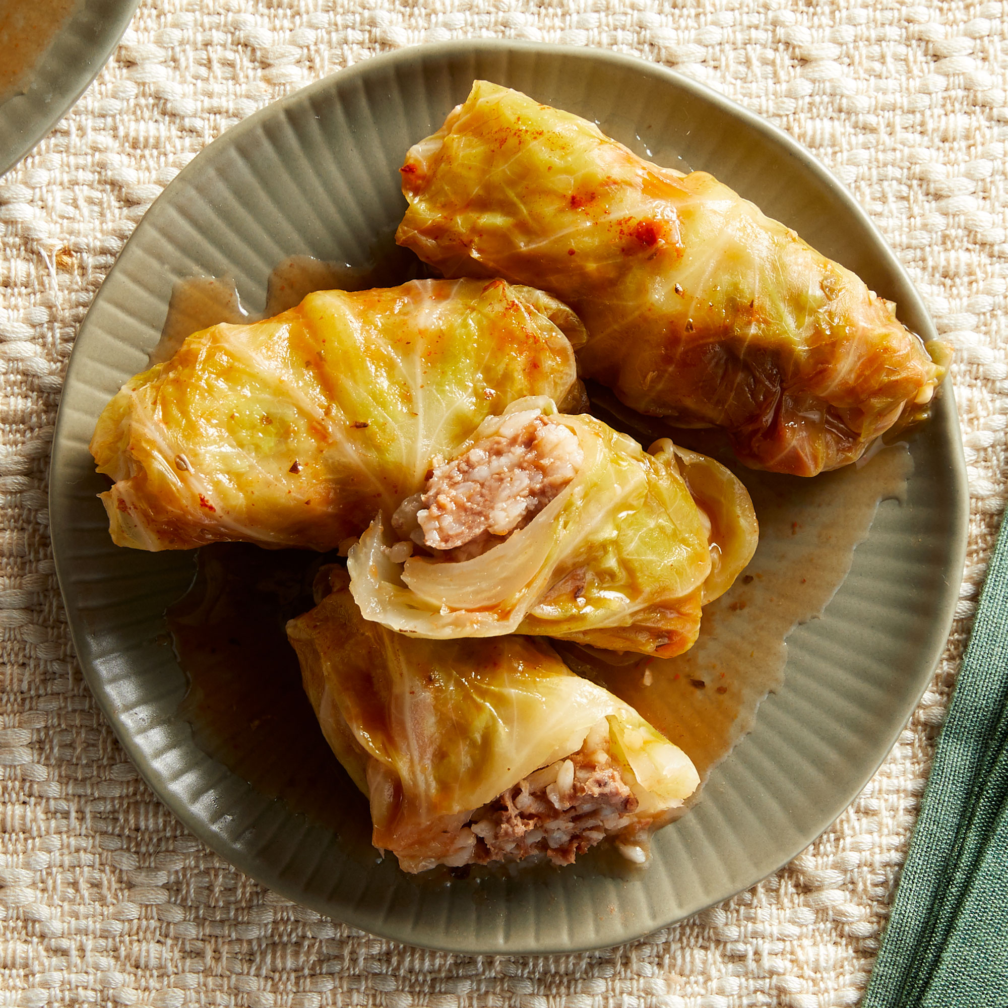 Lebanese Stuffed Cabbage Rolls