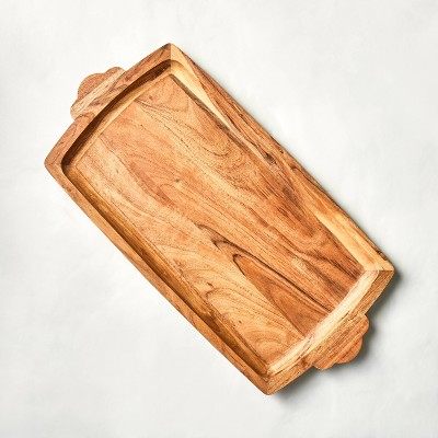 Large Wood Serving Tray