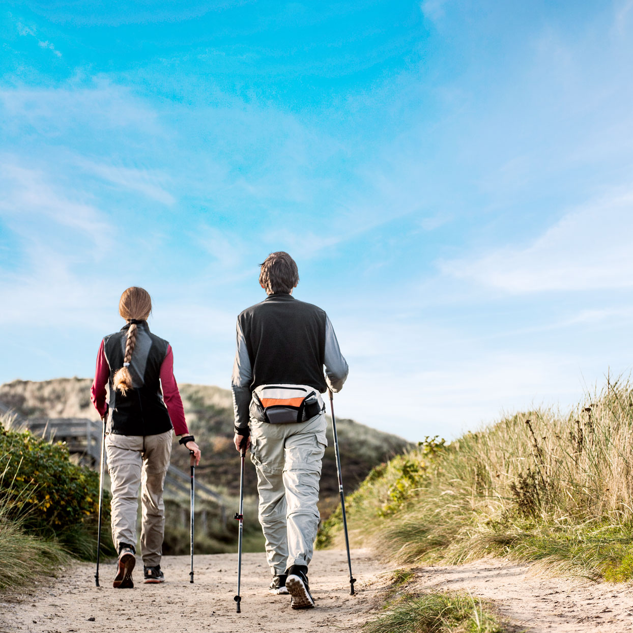 Did You Know You Can Activate 90% of Your Muscles By Nordic Walking?