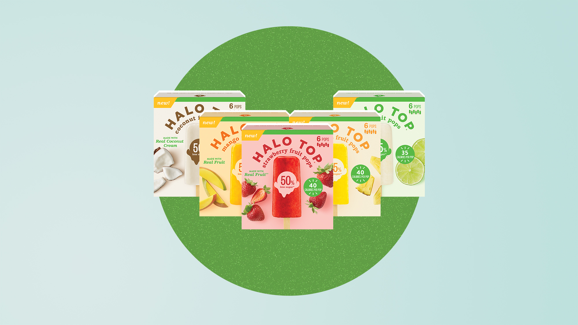 New Halo Top Fruit Pops