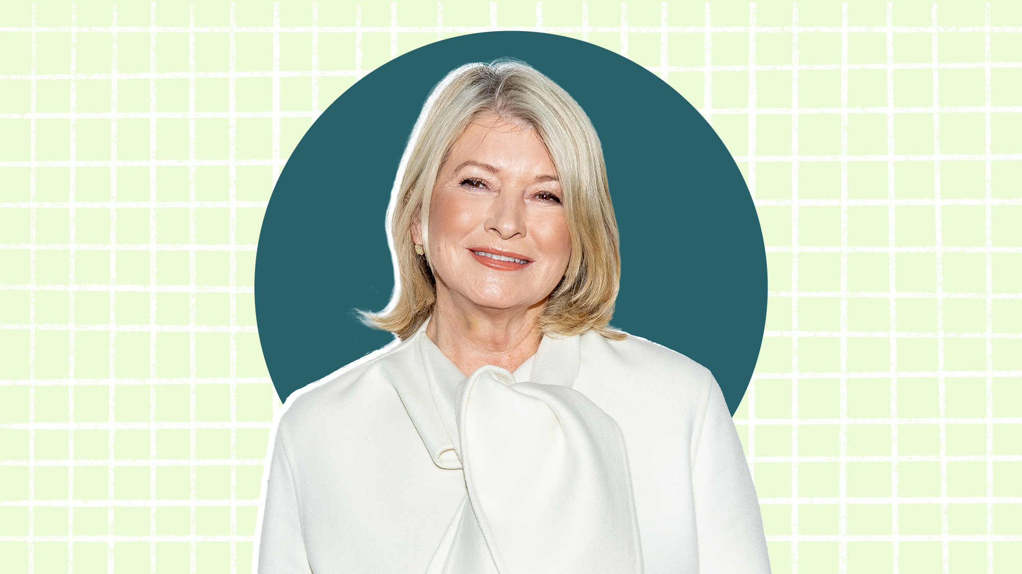 Portrait of Martha Stewart