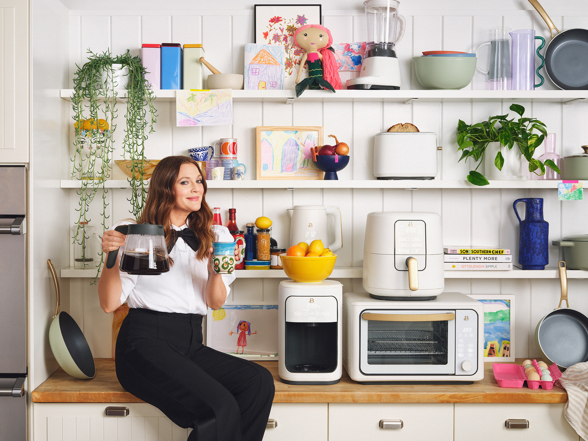 Drew Barrymore's New Kitchen Collection