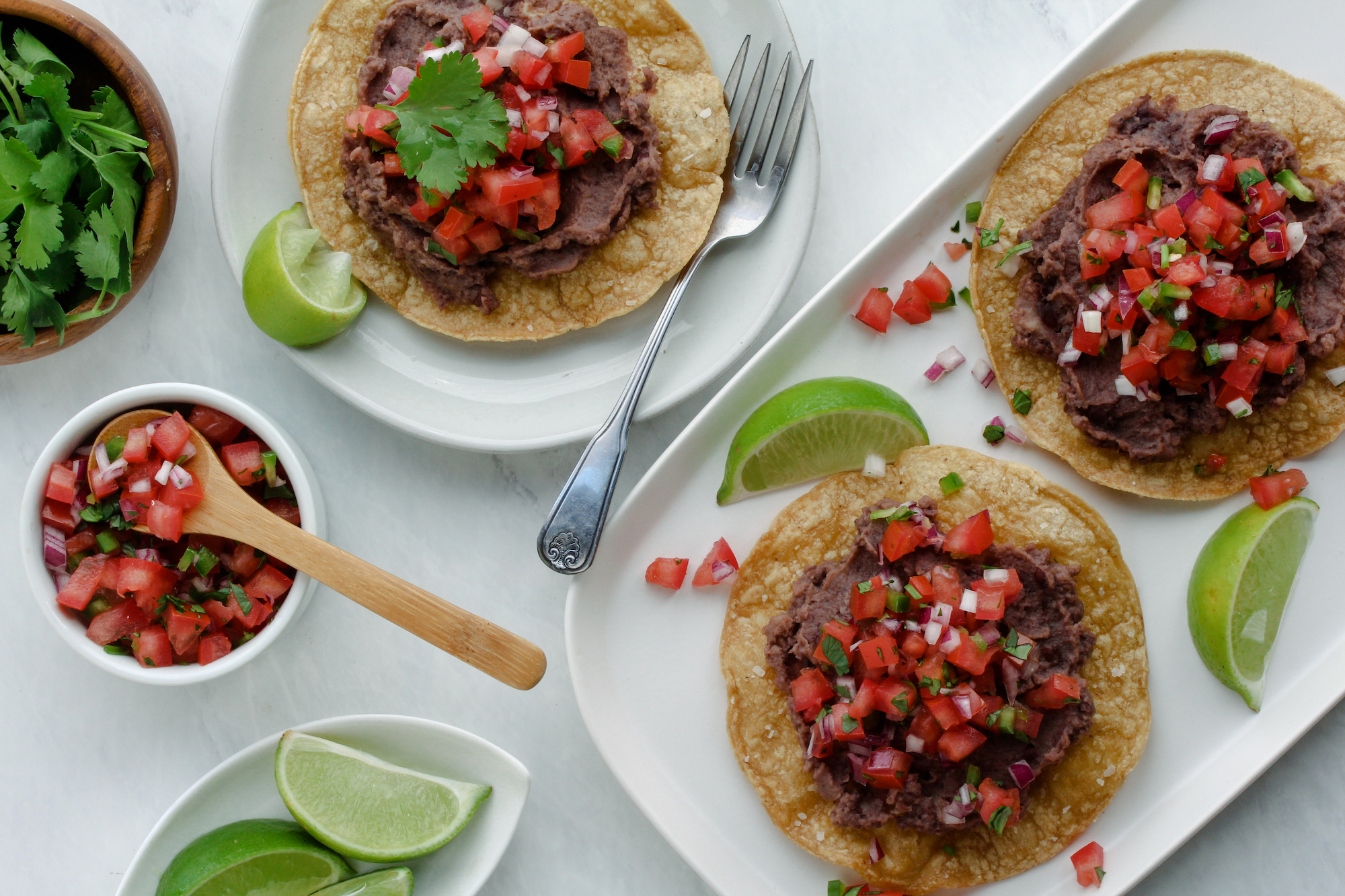 3-ingredient tostada
