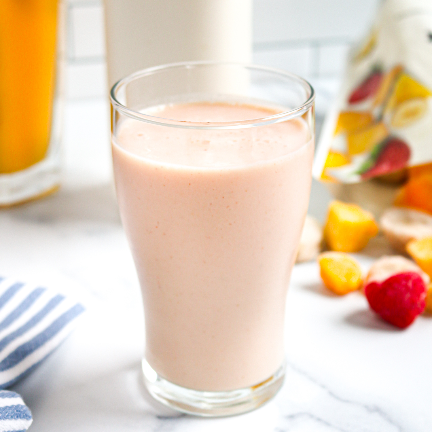 3-Ingredient Tropical Tangerine Smoothie