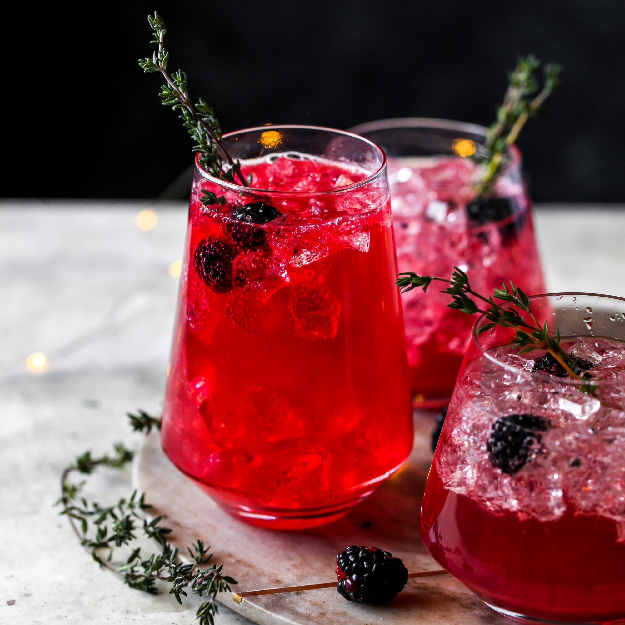 Gin & Blackberry Spritz