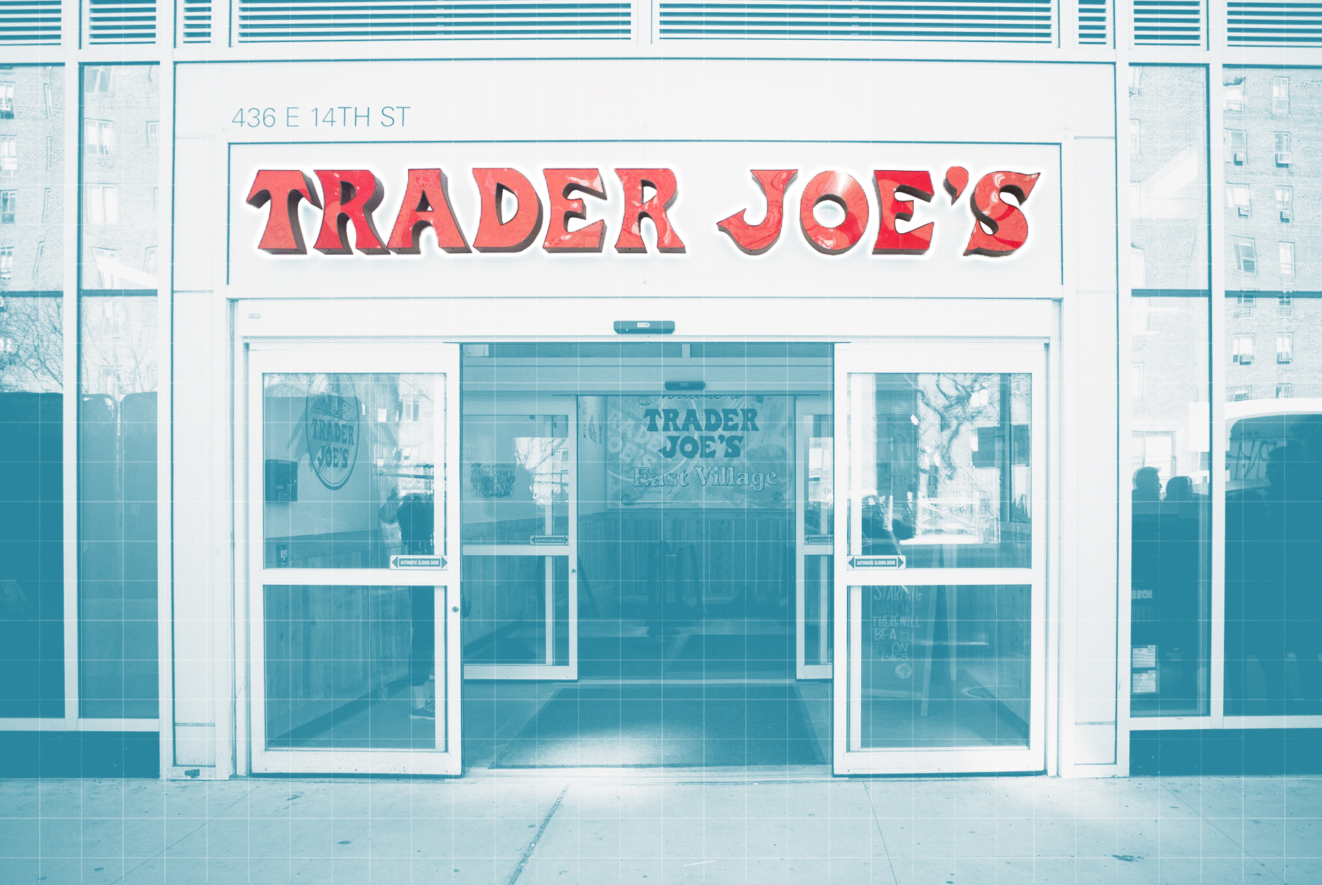 New York City Trader Joe's storefront
