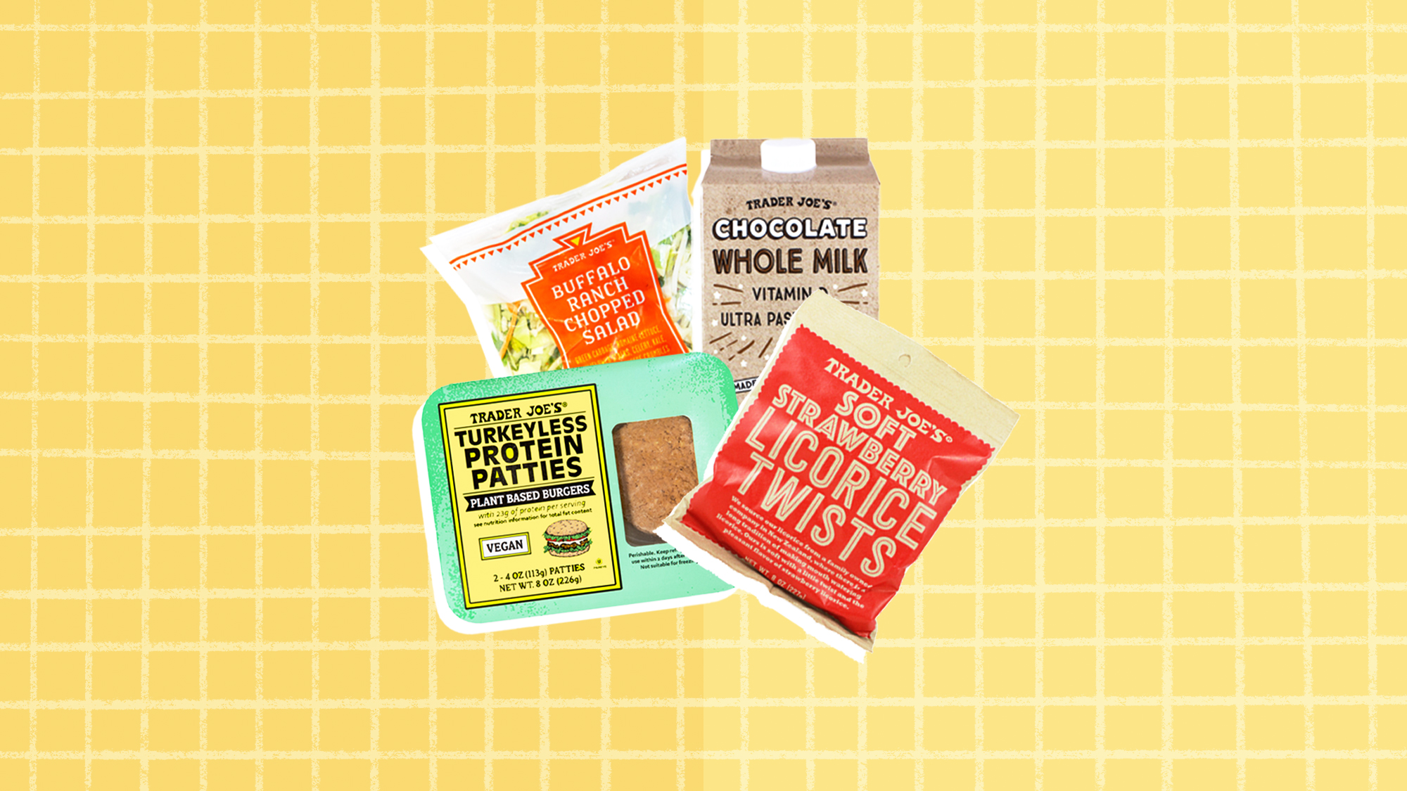 4 items from Trader Joe's