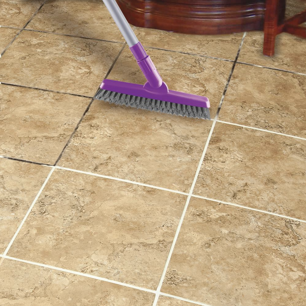 extendable grout brush