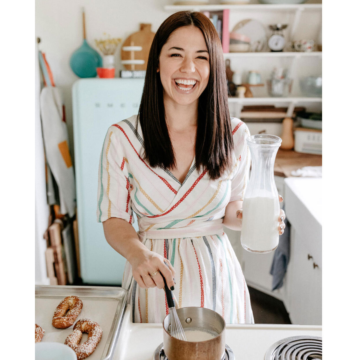 Molly Yeh cooking