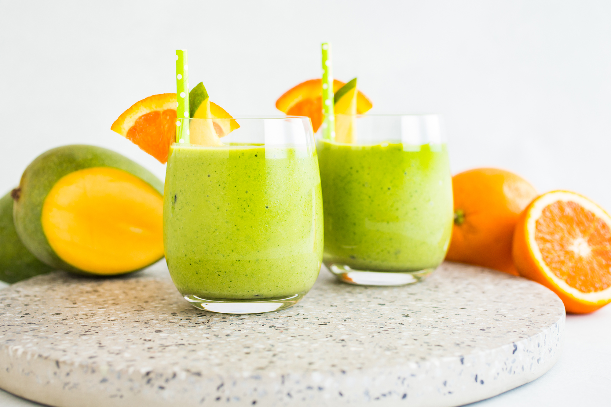 Mango and Kale Smoothie