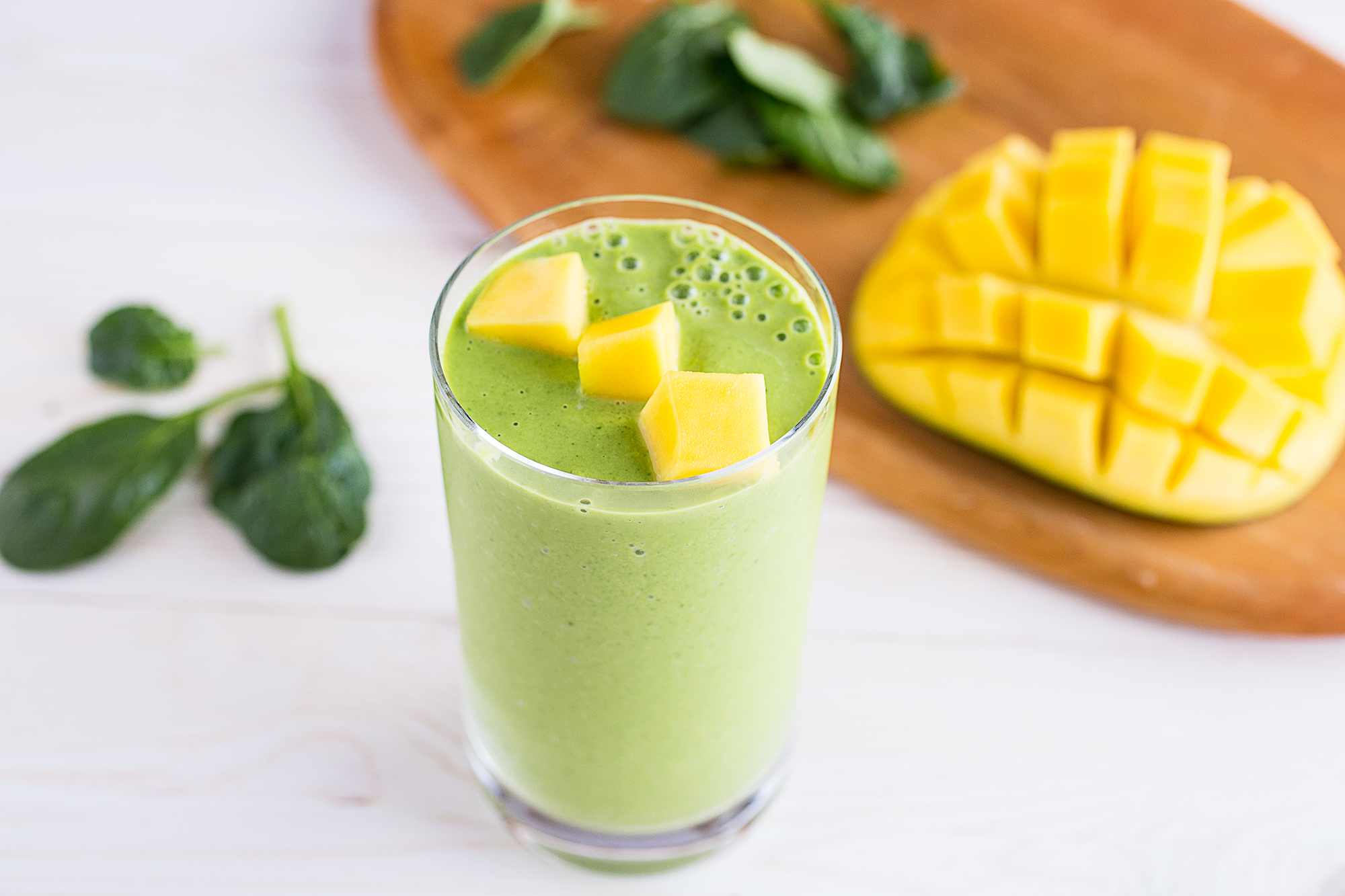 Mango and Spinach Smoothie