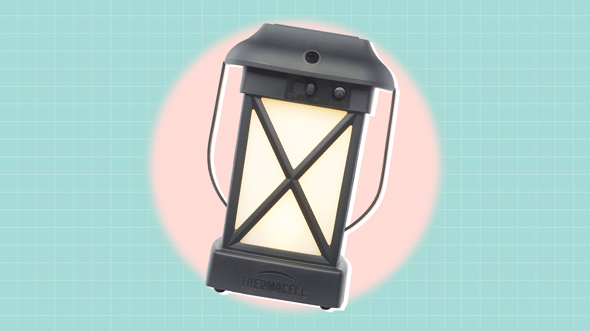 Thermacell Cambridge Mosquito Repellent Lantern; No Spray Mosquito Repellent For Patios; Includes 12-Hours of Protection; DEET-Free, Scent-Free, No Flame Citronella Candle Alternative