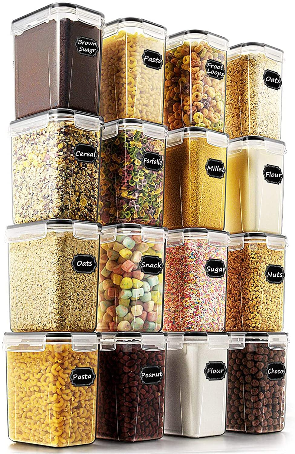 amazon clear pantry storage containers