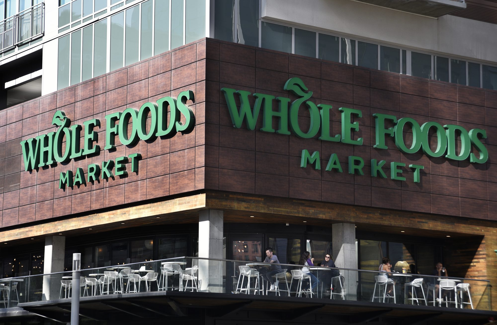 storefront of Whole Foods