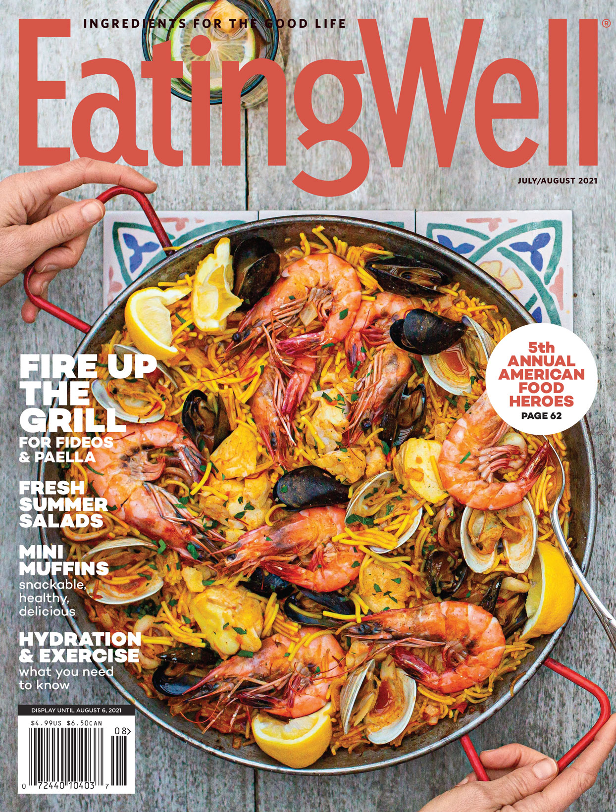 EatingWell July/August Cover
