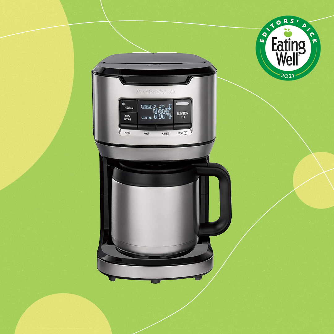 Hamilton Beach Programmable Front-Fill Coffee Maker with Thermal Carafe