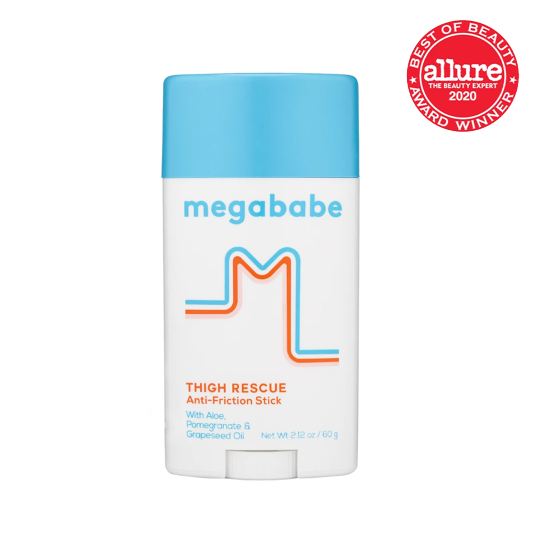 megababe thigh rescue chafing stick