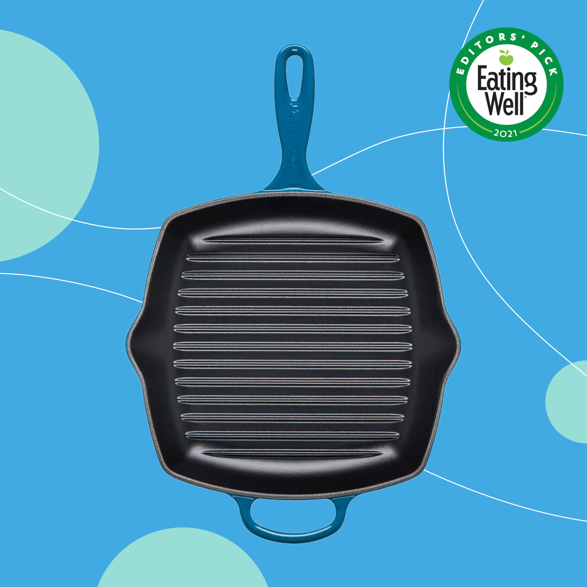 le creuset grill pan