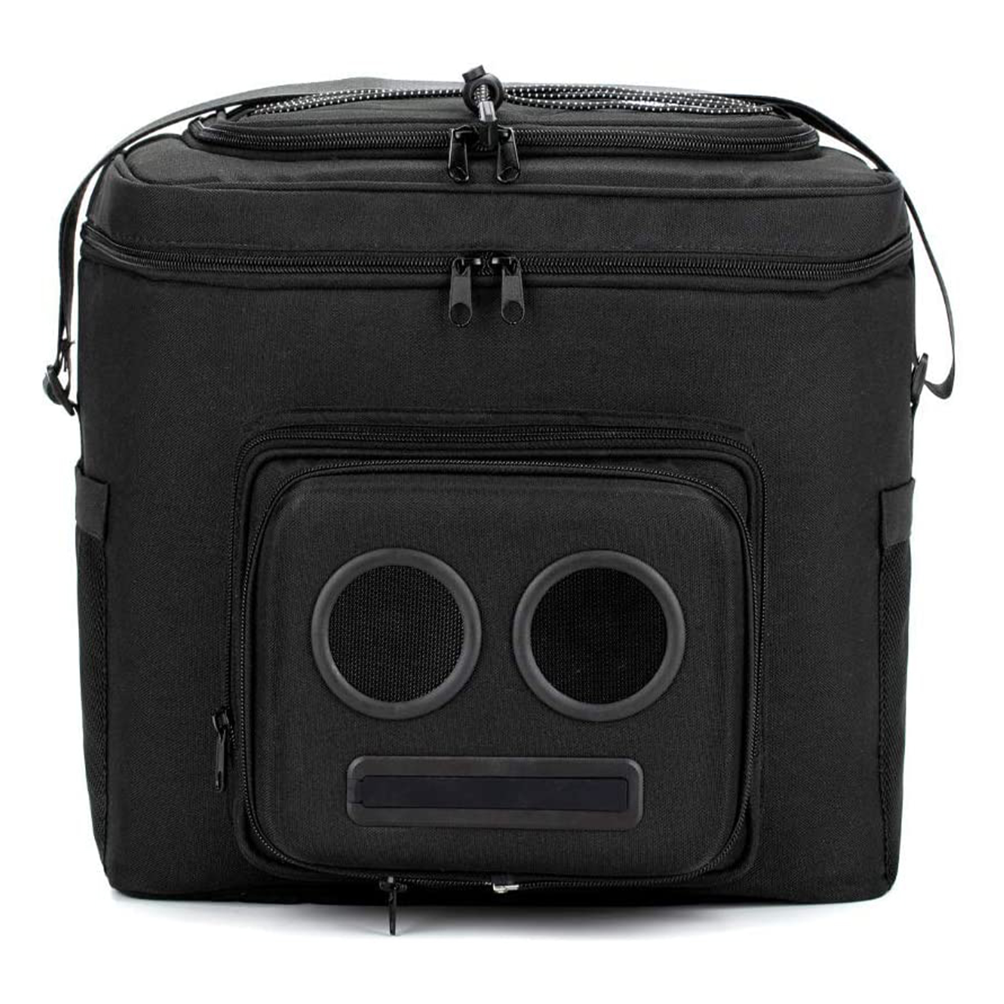 he #1 Cooler with Speakers on Amazon. 20-Watt Bluetooth Speakers & Subwoofer for Parties/Festivals/Boat/Beach. Rechargeable, Works with iPhone & Android (Black, 2020 Edition)