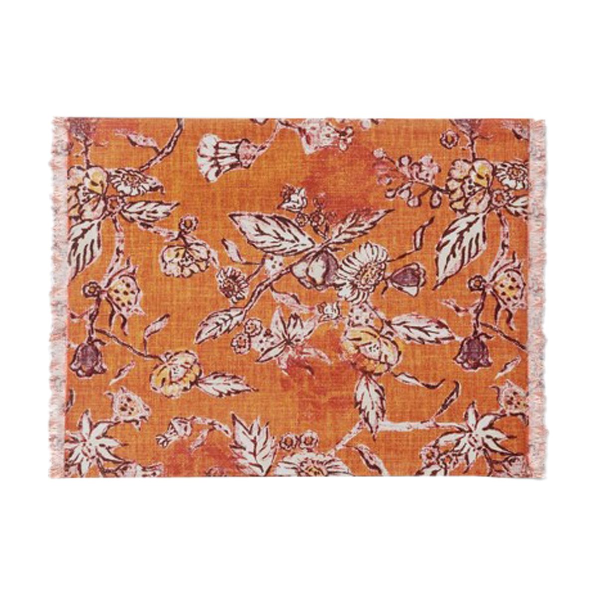 Cotton Flower Printed Fused Placemat - Threshold