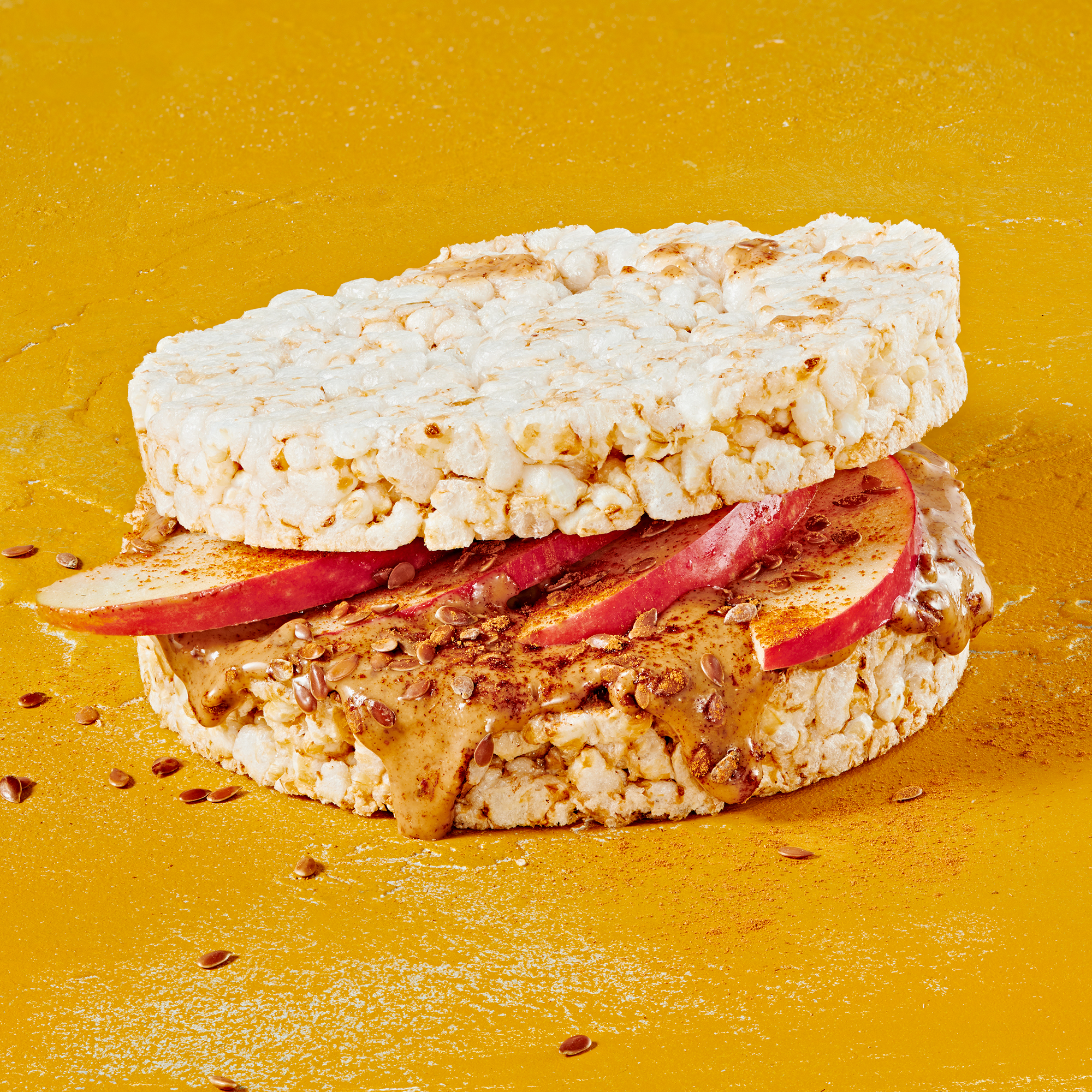 Rice Cake Snackwich