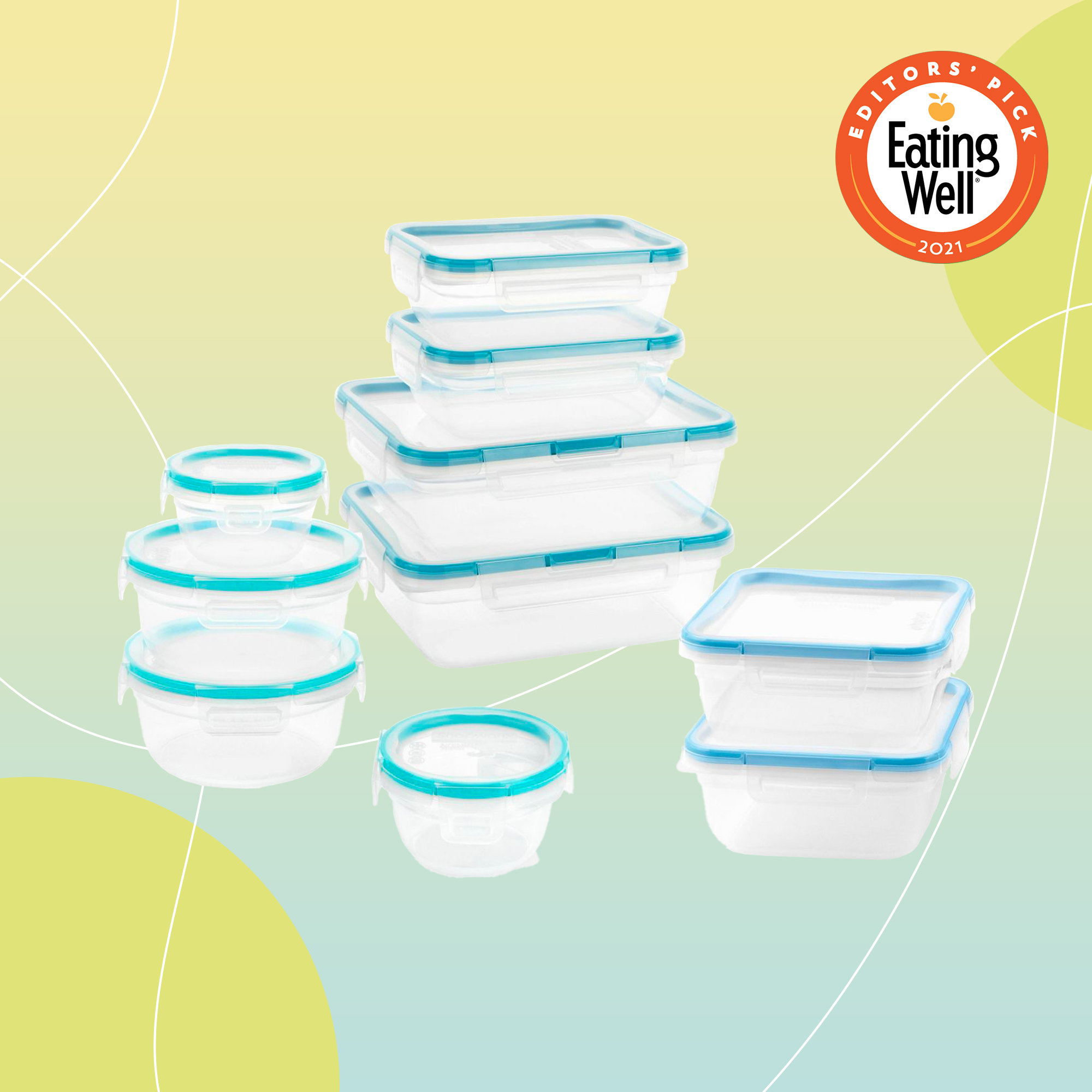 Snapware Total Solutions Plastic Food Storage Container Set - 20pc
