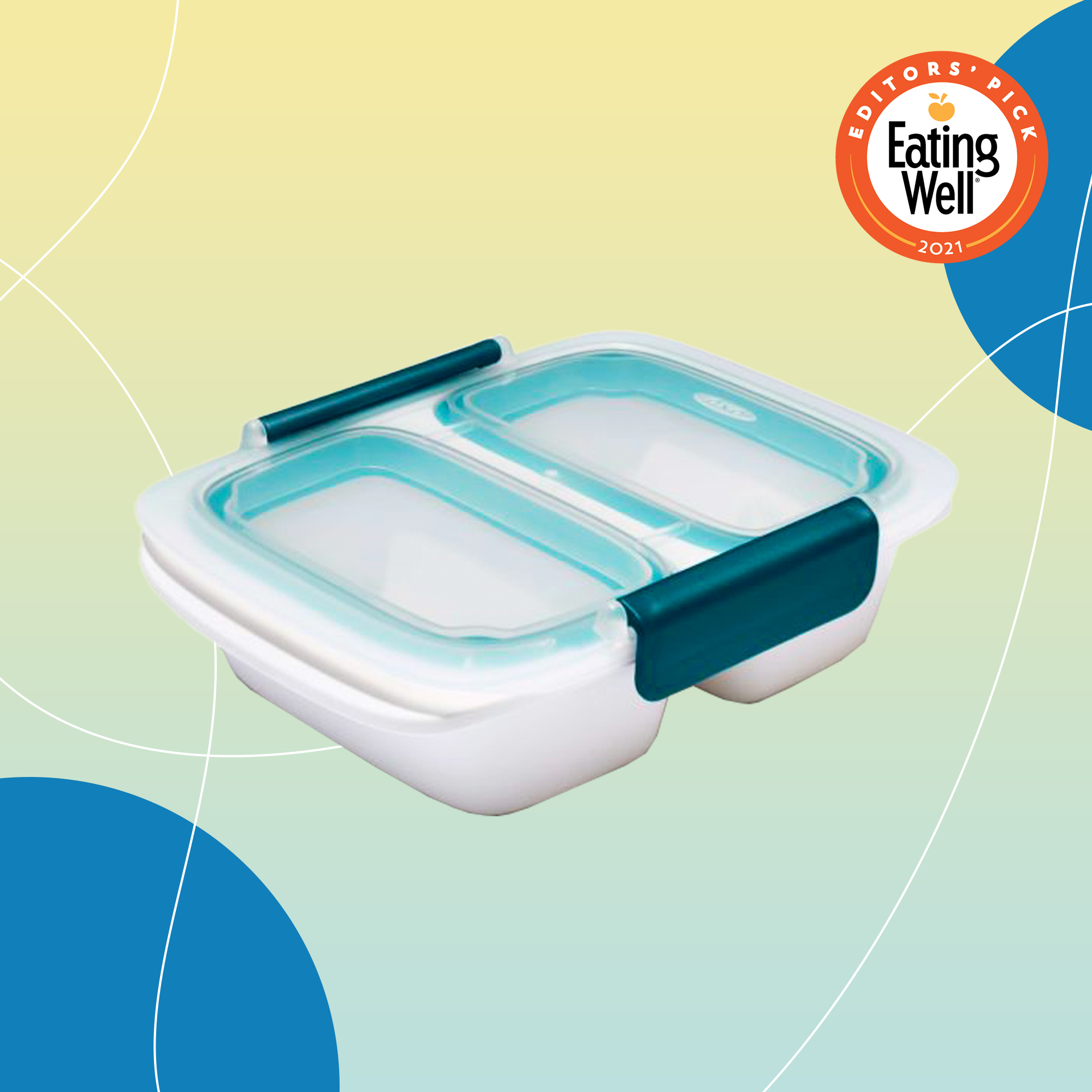 OXO Prep & Go 2-Cup Divided Container