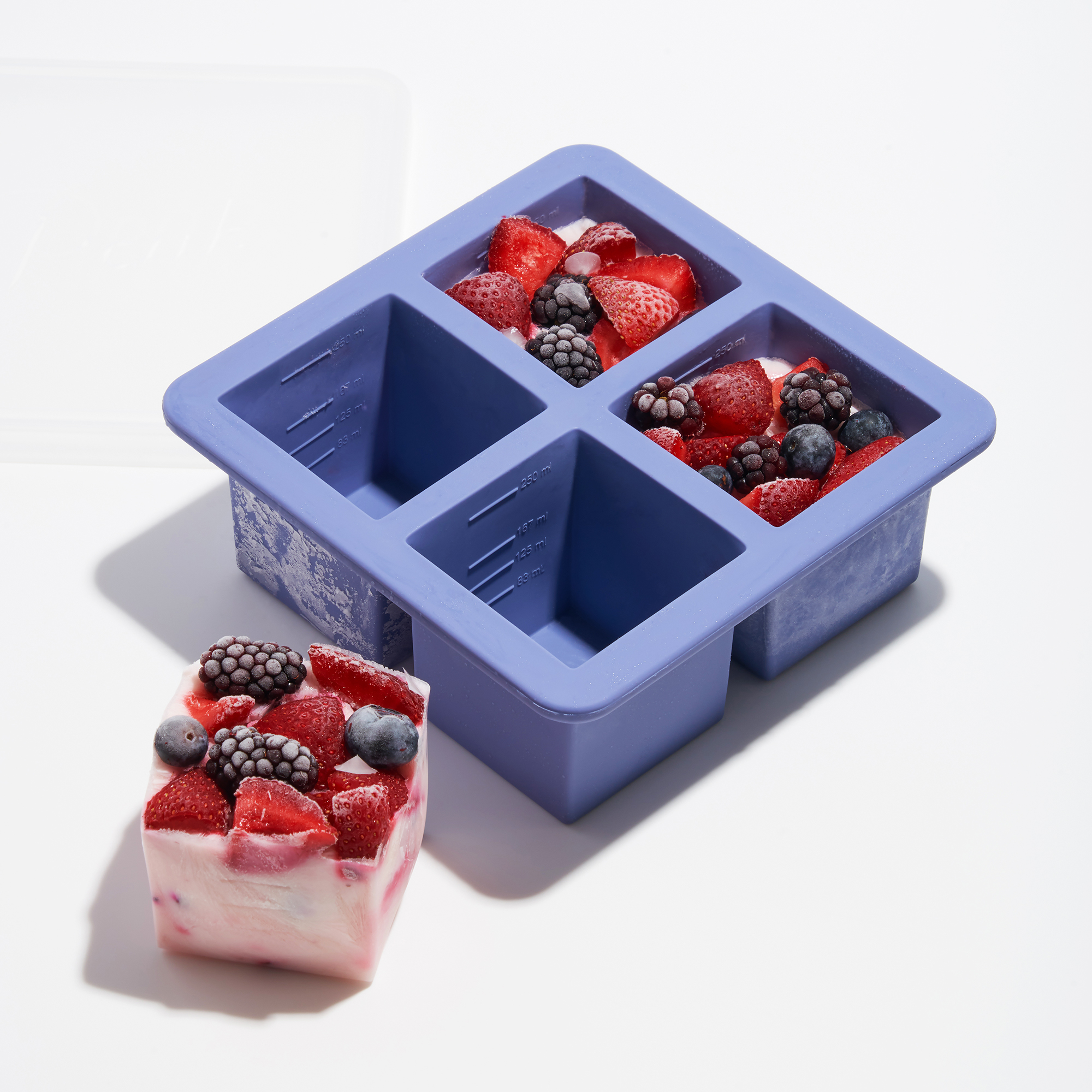 Cup Cubes Freezer Tray - 4 Cubes