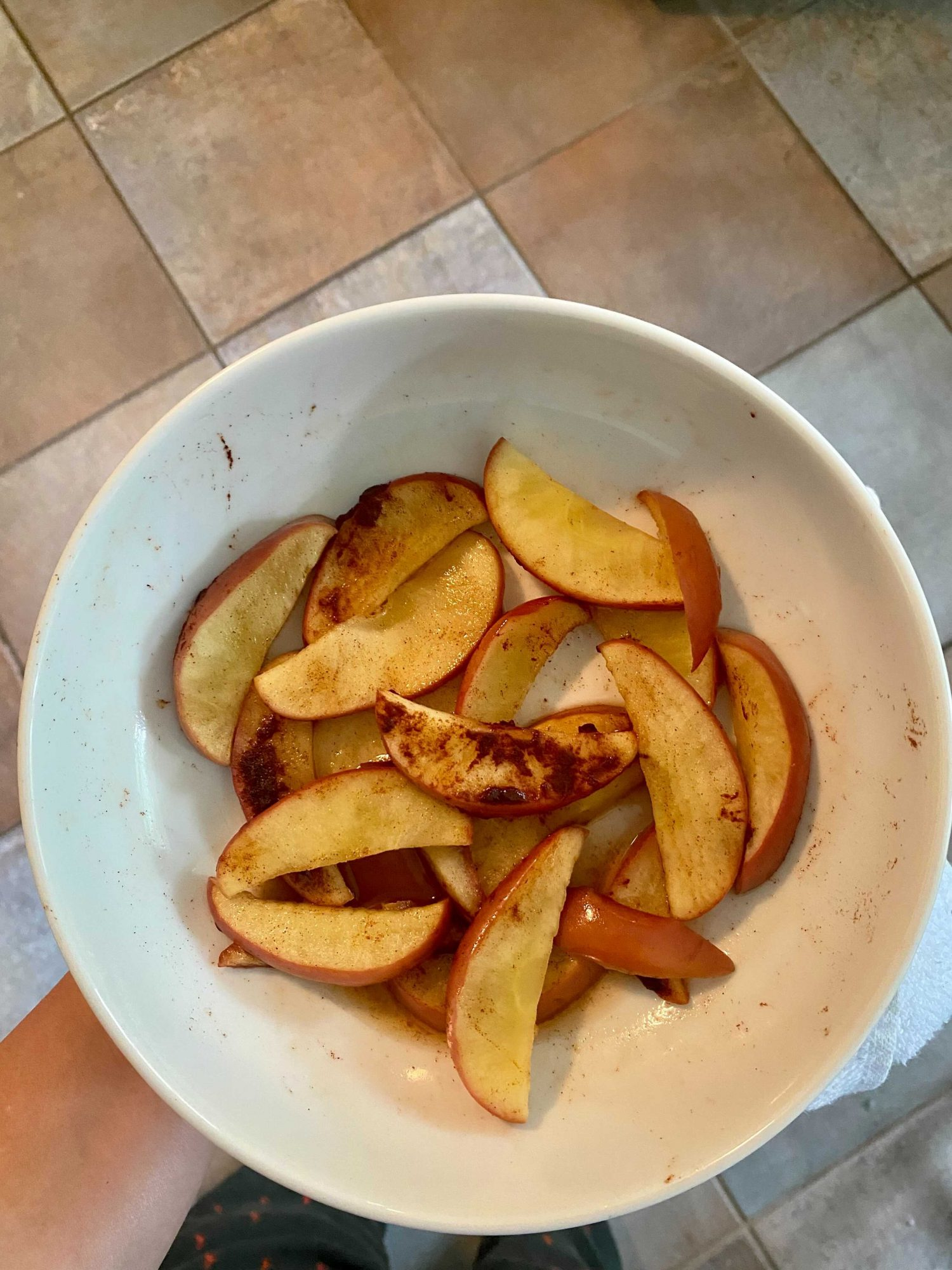 microwave apples weight watchers