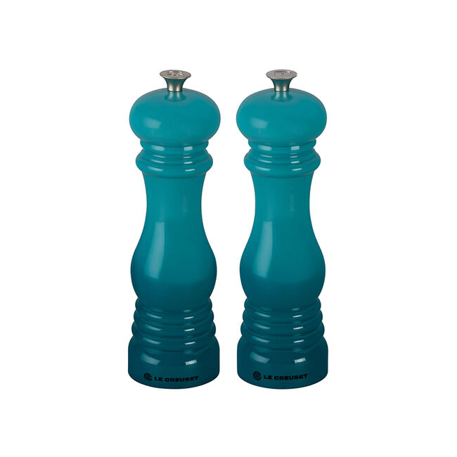 pair of salt and pepper shakers