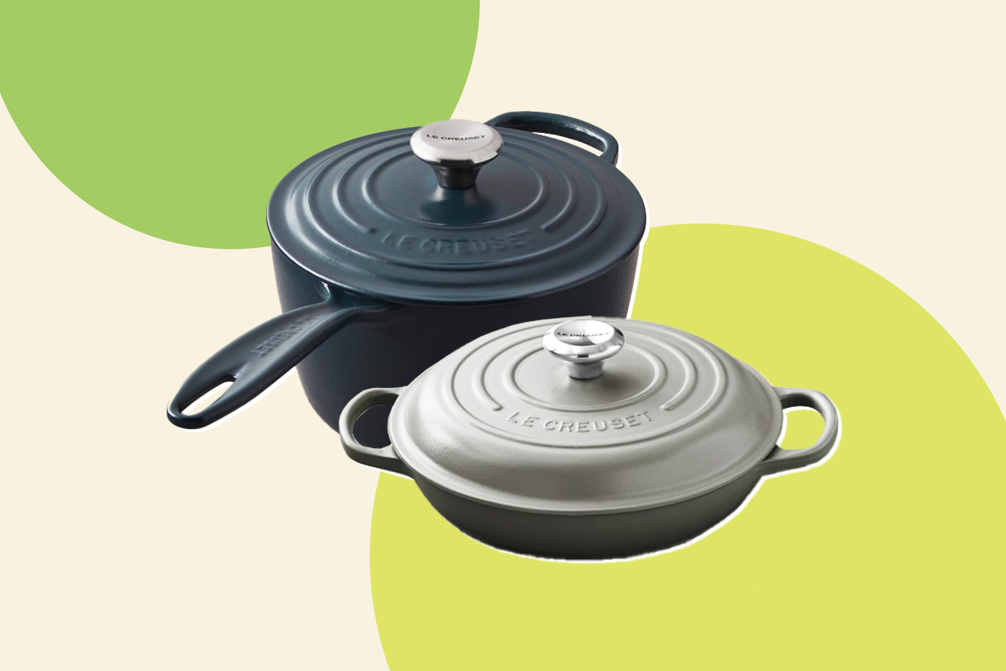 le creuset new color chambray