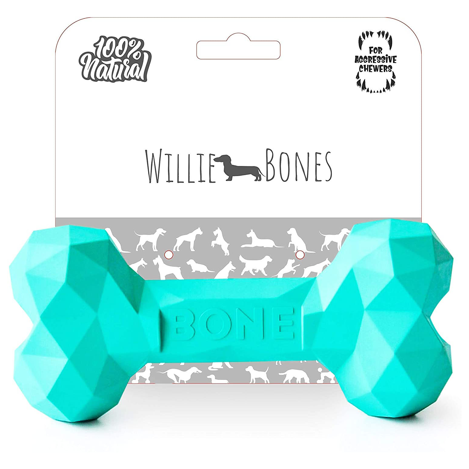 Willie Bones Modern Dog Chew Toy