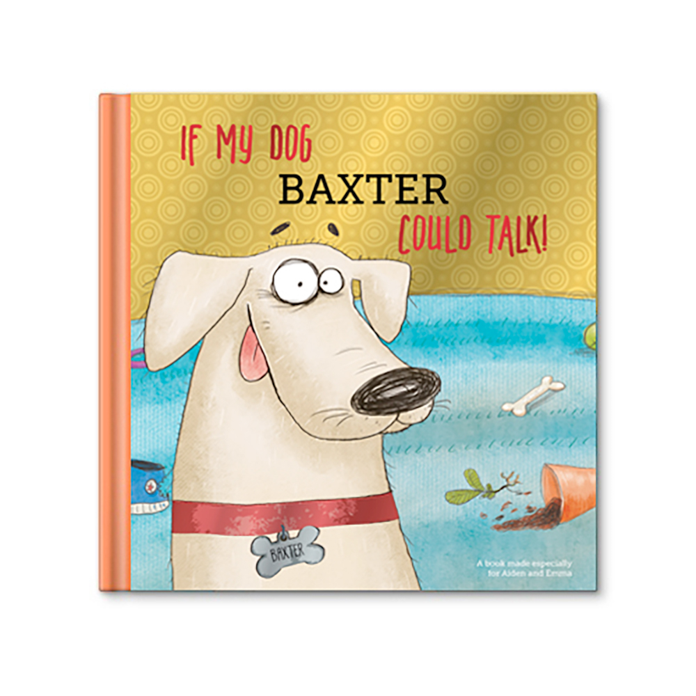 If My Dog Could Talk Personalized Story Book