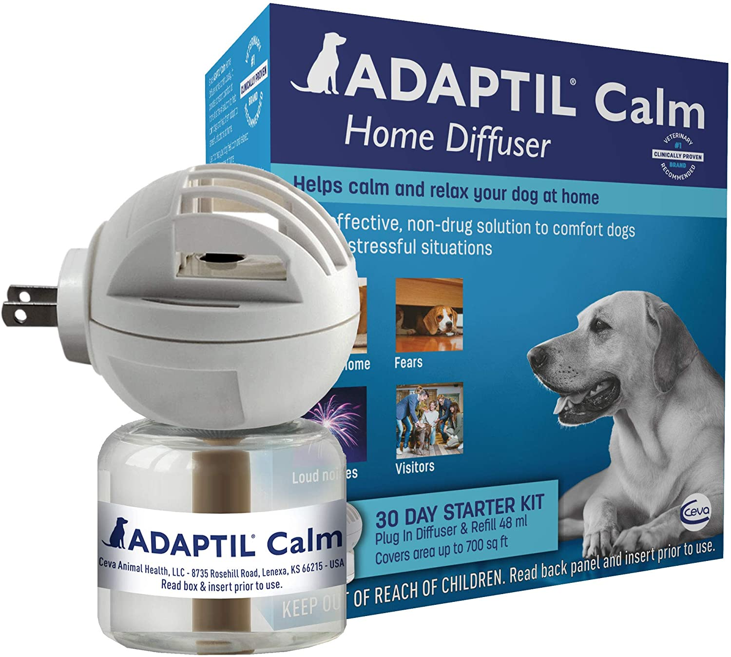 Adaptil diffuser for dogs