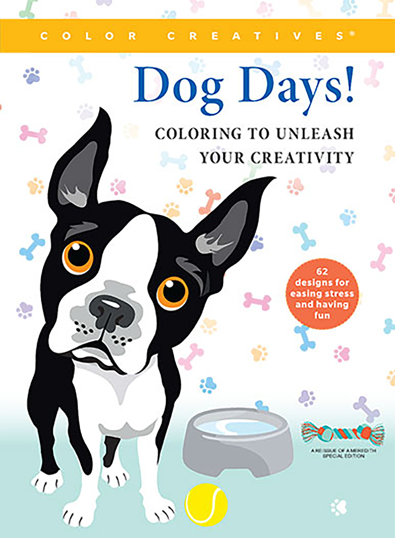 Color Creatives: Dog Days Coloring Book