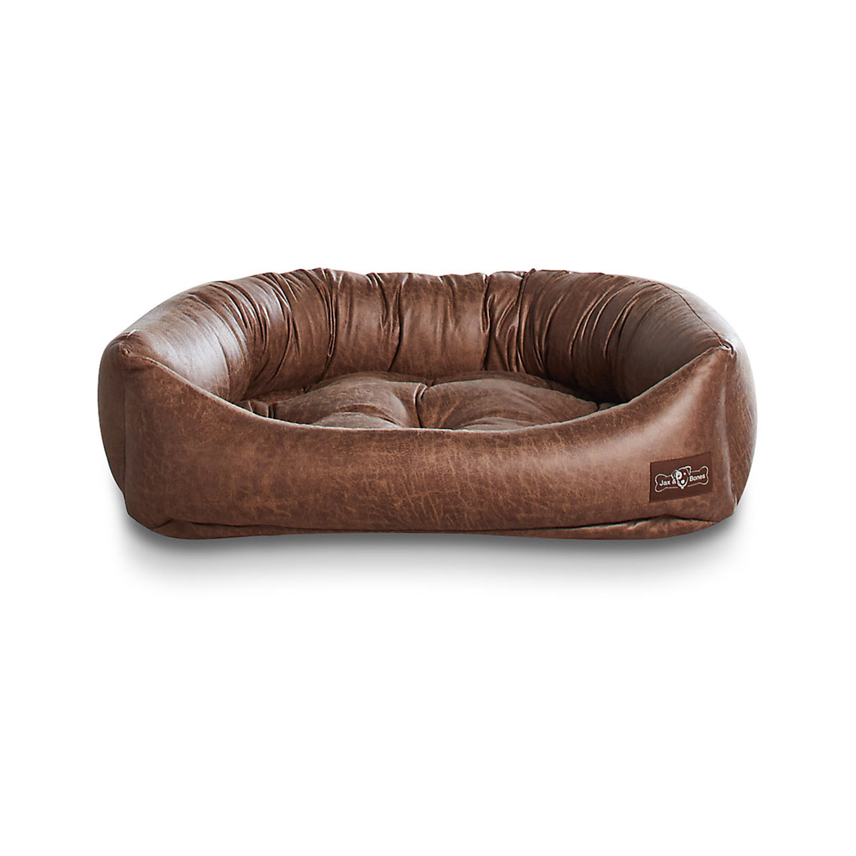 leather dog couch