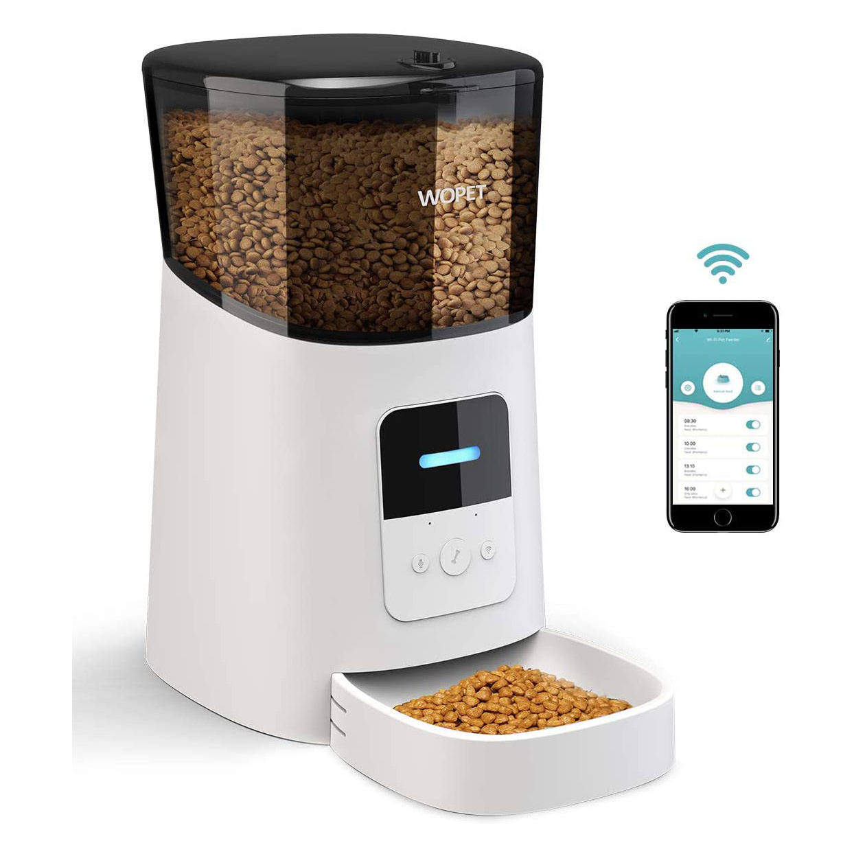 wopet automatic cat feeder