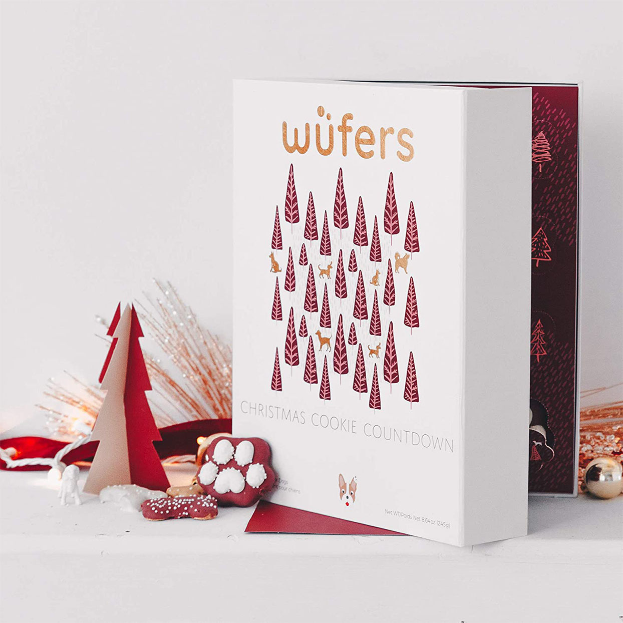 wufers dog cookie advent calendar