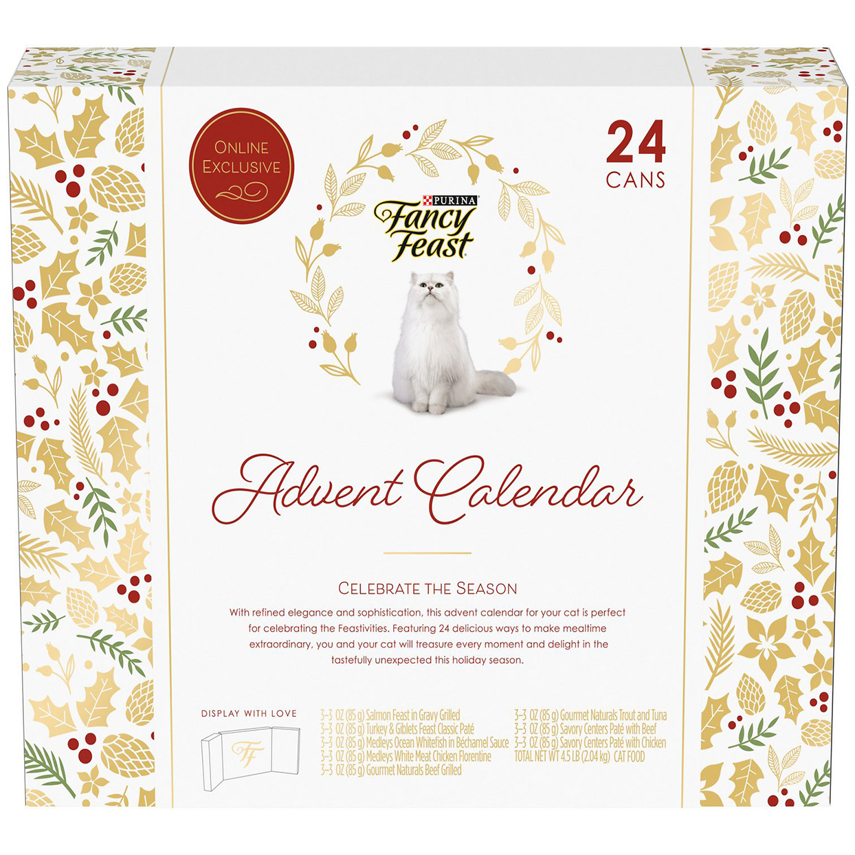 fancy feast cat advent calendar