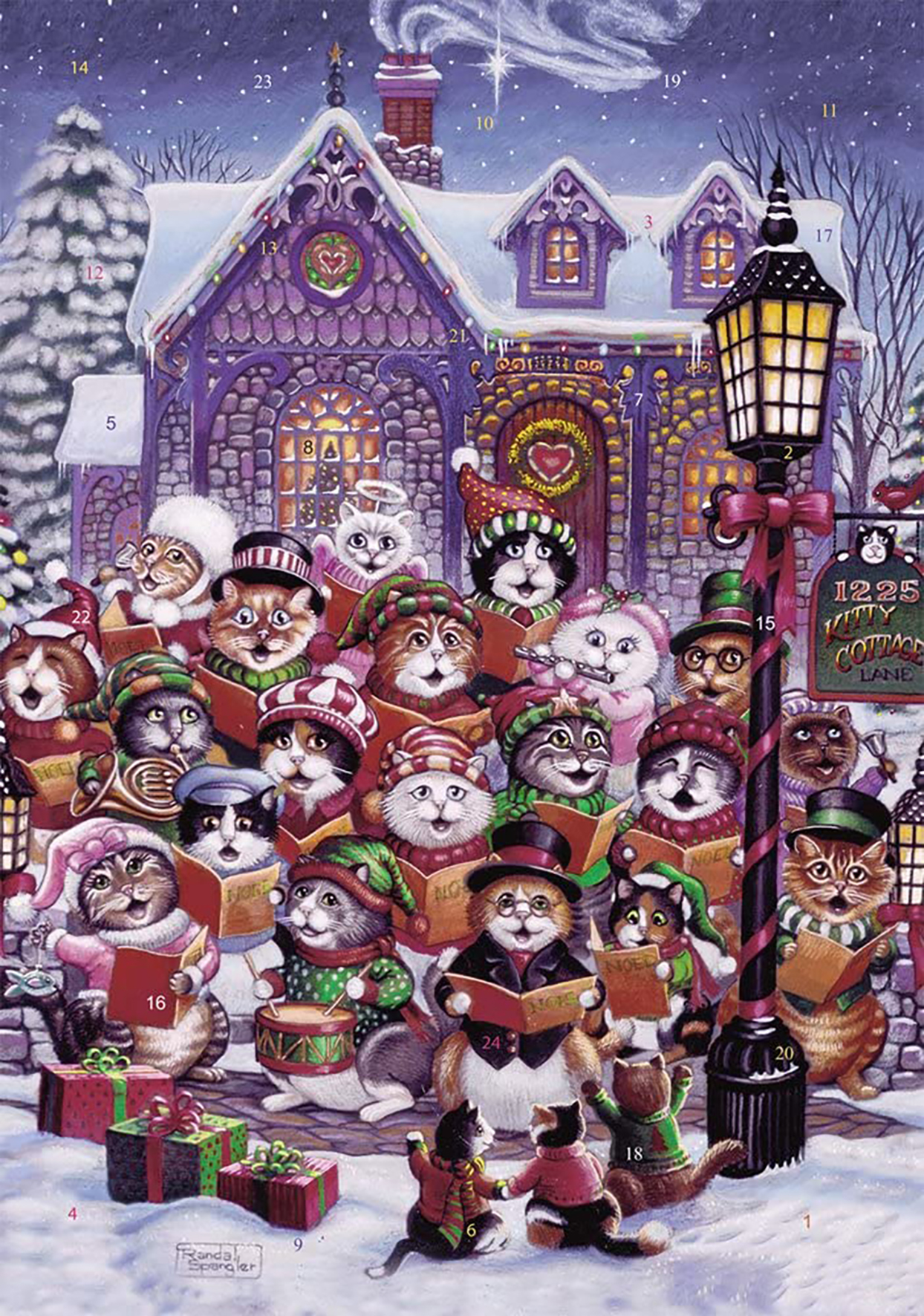 purrfect harmony cat advent calendar