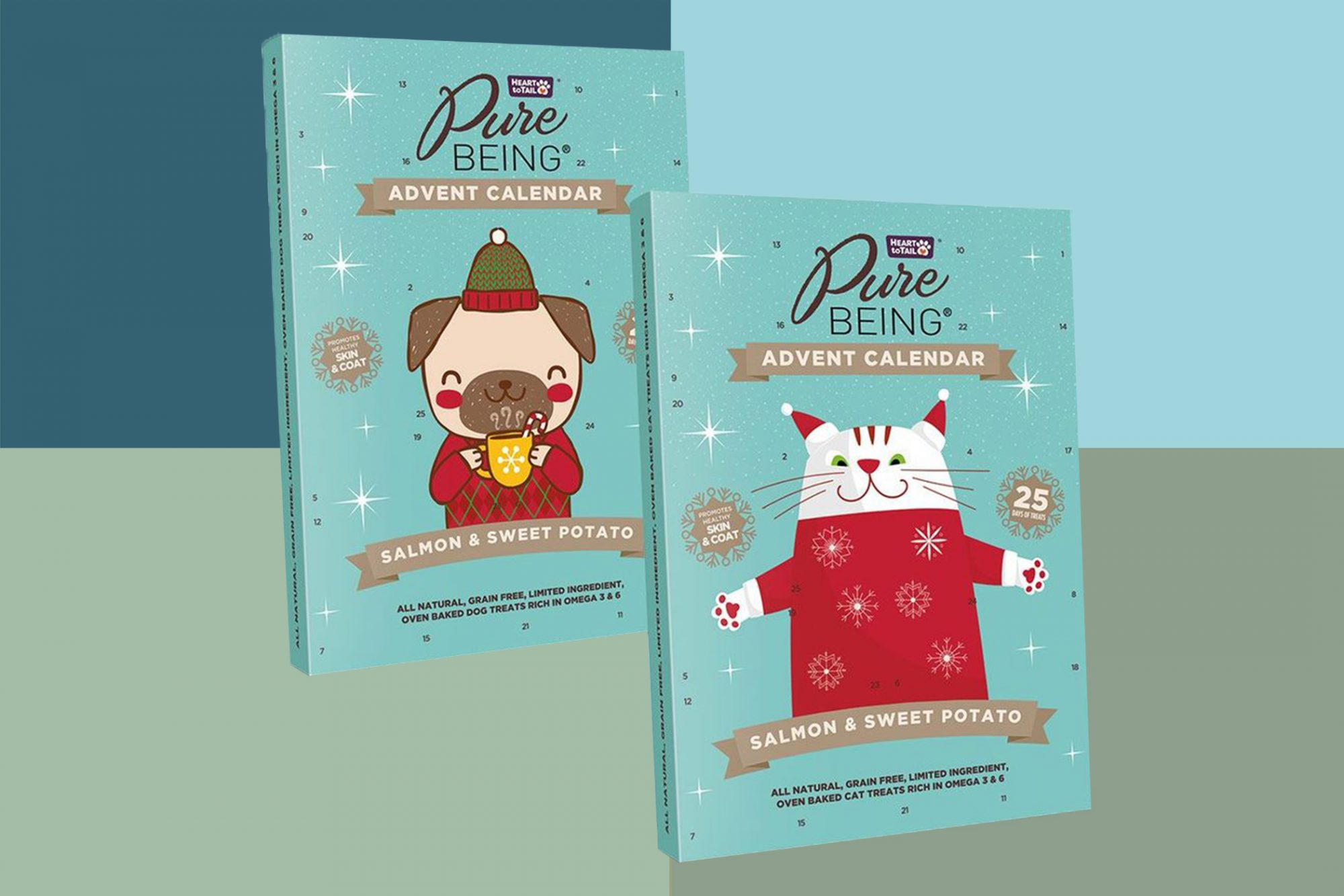 dog and cat advent calendars
