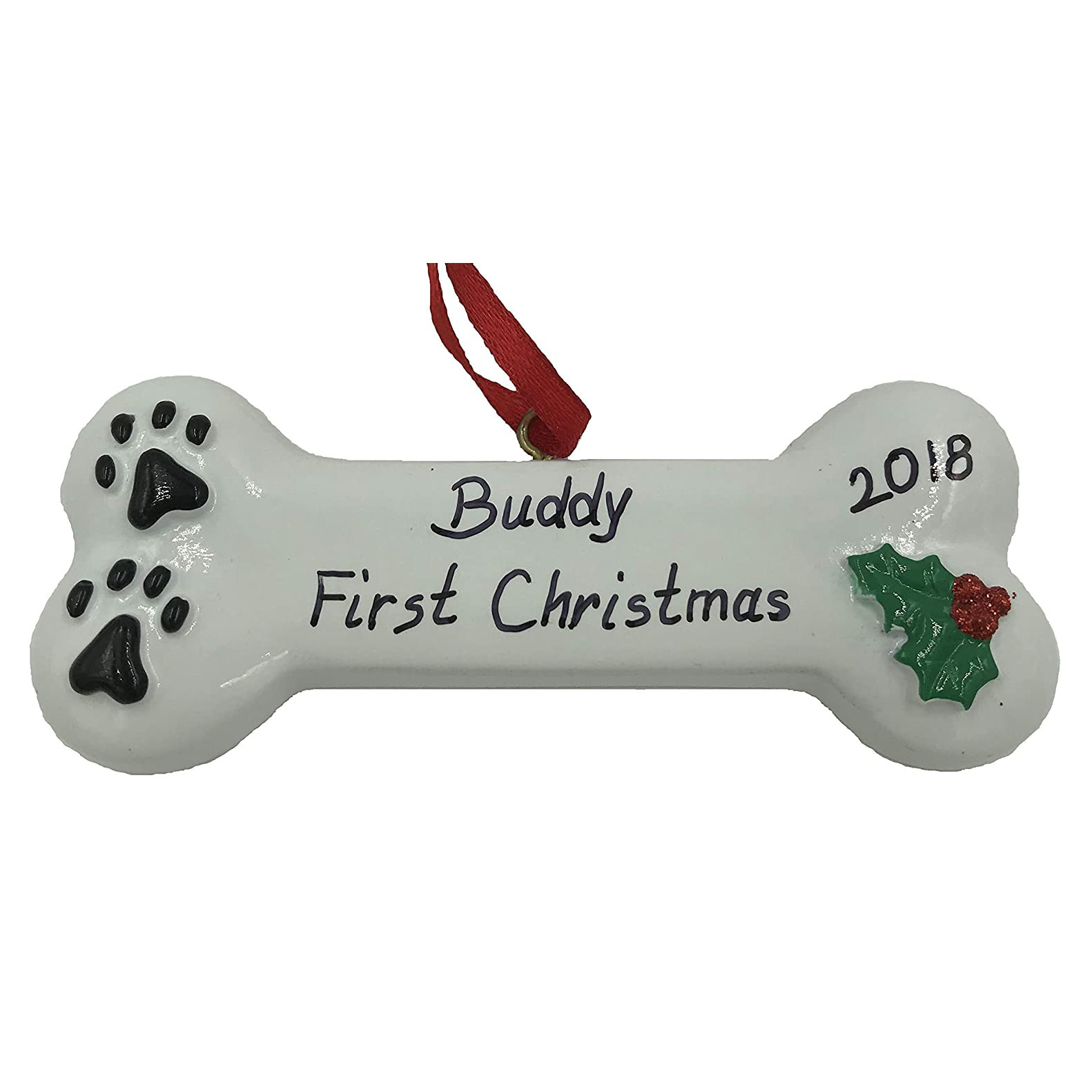 personalized-first-christmas-dog-ornament