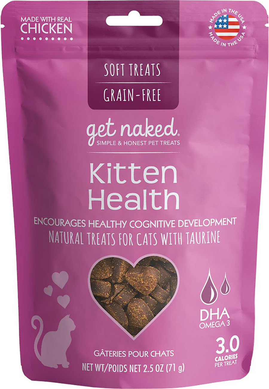 Get Naked Kitten Treats