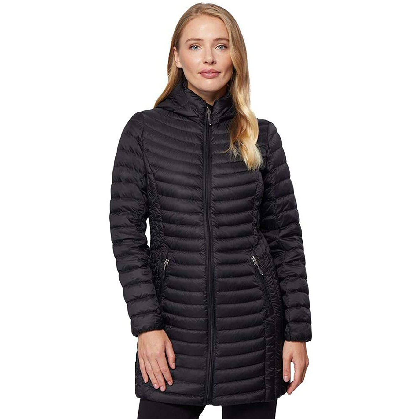 32-degrees-womens-ultra-light-packable-down-three-quarter-long-jacket