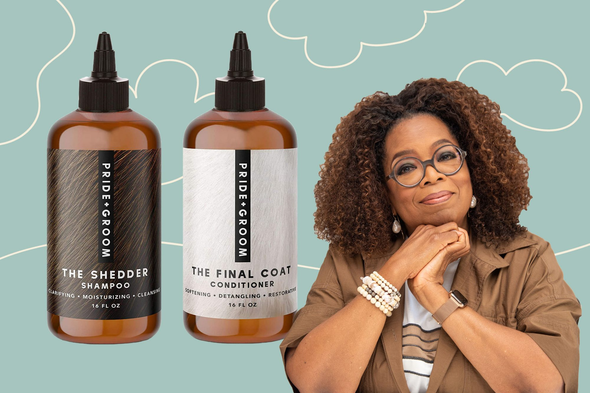 Oprah's favorite shampoo and conditioner for pets