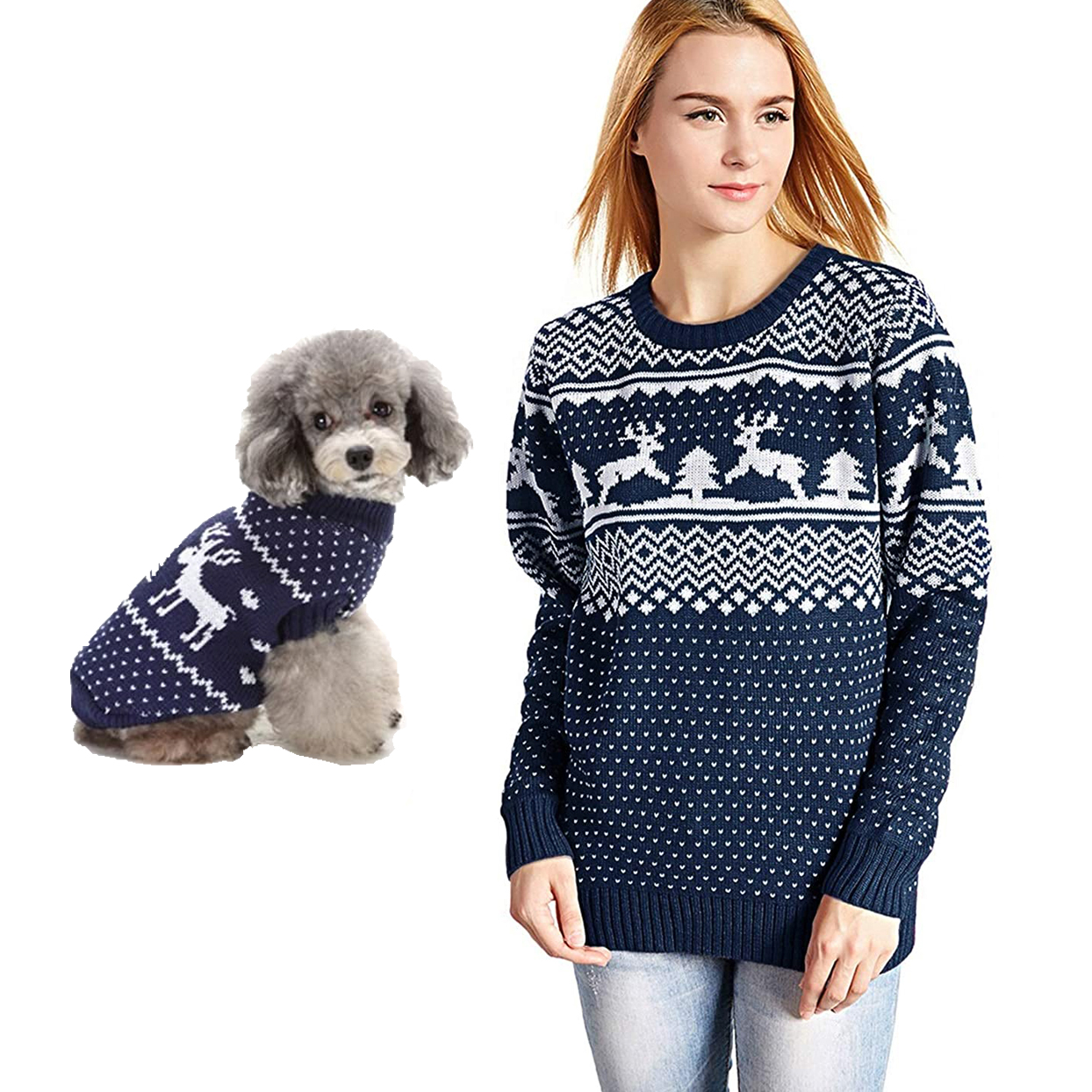 navy-reindeer-matching-sweaters
