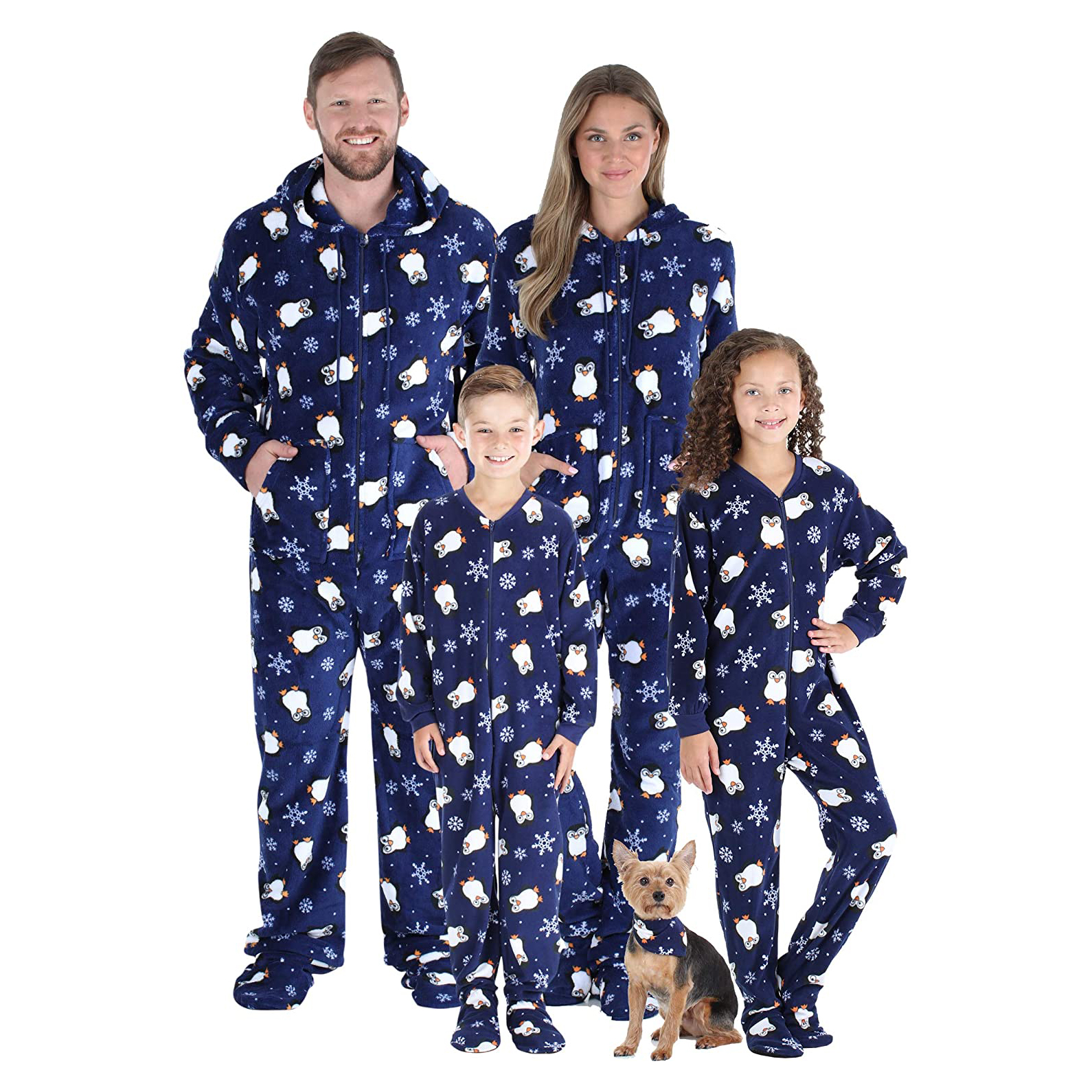 sleepytimepjs-family-matching-christmas-onesies